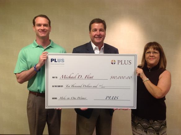Michael Flint wins $10,000 at PLUS SE Chapter Golf
