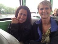 Diane Dukes and Maria Treglia
