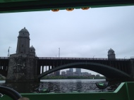 The Longfellow Bridge from below