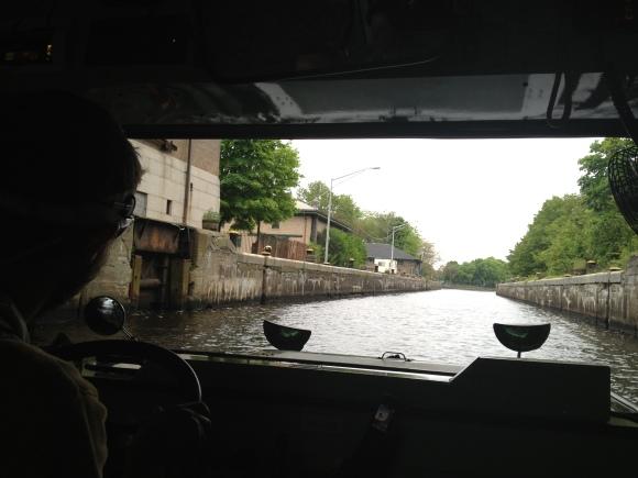 Through the Dam