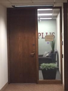 PLUS Front Door