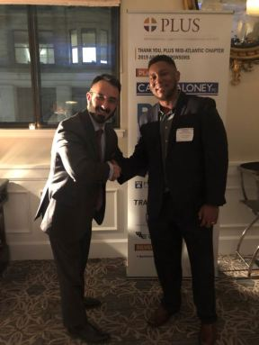Chris Tellner passing baton to new chapter chair Clarence Sproul